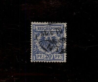 1889-1900 German Empire Value Stamp & Imperial Eagle Used