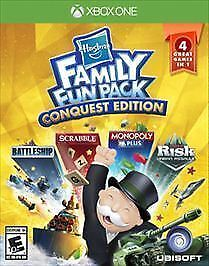 Hasbro Family Fun Pack Conquest Edition (Microsoft Xbox One, 2016) NEW FAST XB1