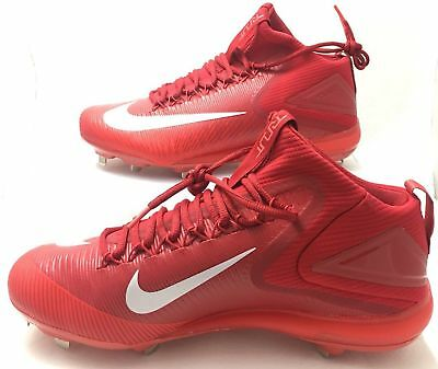 100% authentic 4796d 9b316 Nike Zoom Trout 3 Metal Baseball Cleats Red 856503 667 Men s Size 10 New  Shoes