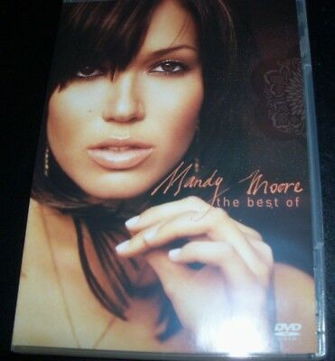 Mandy Moore The Best Of (Australia All Region) DVD – Like New