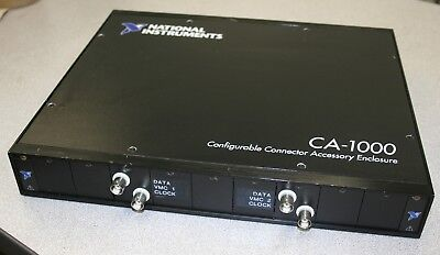 NATIONAL INSTRUMENTS CA-1000 Enclosure with CB-68LPR 68 Pin I/O and 2 184737-01