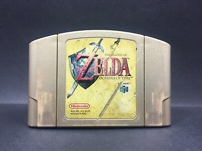 The Legend Of Zelda Ocarina Of Time - Nintendo 64 Game - N64 PAL - Cartridge B