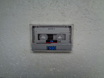 Vintage Audio Cassette SONY FN 90 From 1988 - Fantastic Condition !!