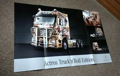 """Poster__Mercedes Benz Actros Truck´n´´Roll Edition__2007 """"The BossHoss"""""""