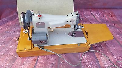 Vintage Retro Electric Jones Acadex Sewing Machine Upholstery Crafts