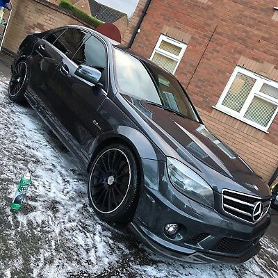 Mercedes C63 AMG 6.3L V8, Carbon Pack, Low Miles