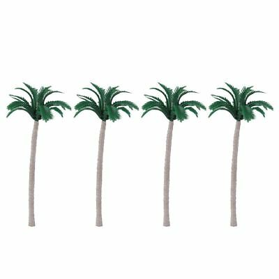 Miniature Dollhouse Fairy Garden Set of 4 Palm Trees  - Buy 3 Save $5
