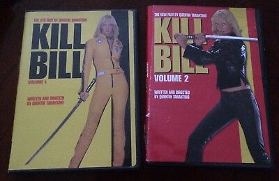 Kill Bill Volume 1&2 (DVD)