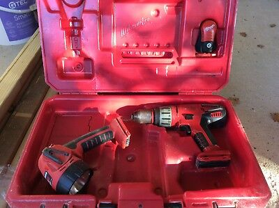 milwaukee 28v drill And Torch