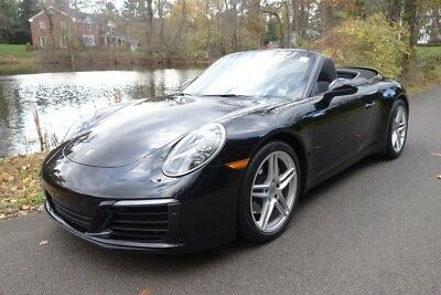2017 Porsche 911 Carrera 2017 Carrera Used Certified Turbo 3L H6 24V Automatic RWD Convertible Premium