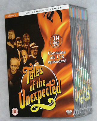 Tales Of The Unexpected Serie Completa - 19 DVD Box Set Nuevo y sin Abrir