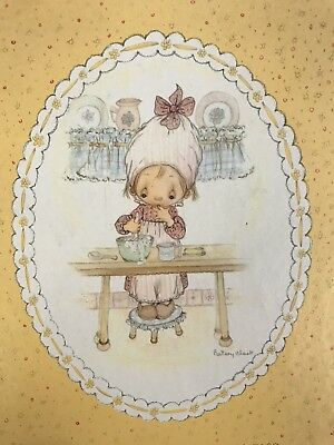 Hallmark Betsy Clark Vintage Recipe Album Card File Set Dated 1973