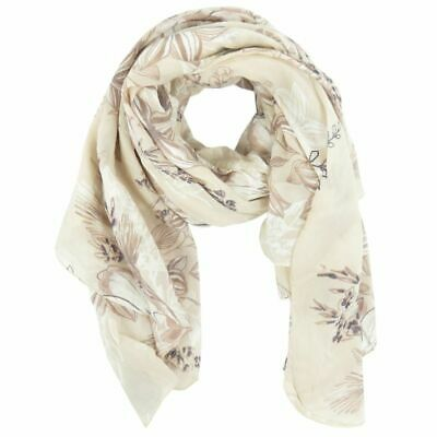 Scarf Flower Flower Flower Made Cotton Silk Mix Many Colours