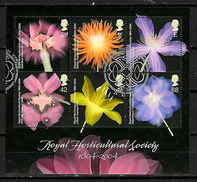 GB 2004 - RHS - Mini Sheet - Very fine used