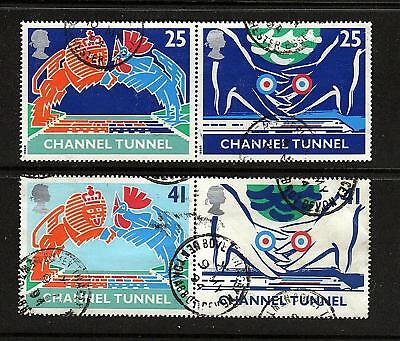 GB 1994 - Channel Tunnel - Set in pairs - used