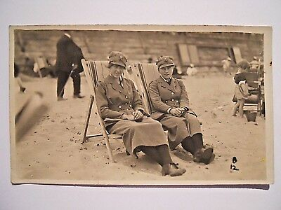 WW1 WRAF Photo Postcard Women's Royal Air Force From Kath To Win 9 / 7 /19