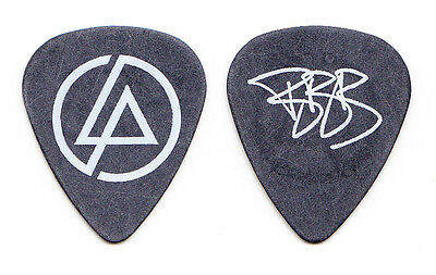 Linkin Park Brad Delson Signature Black Guitar Pick #3 - 2007-2008 Tour