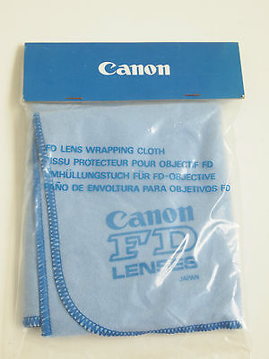 Genuine Canon Camera Lens Wrapping Cloth Still Sealed FD