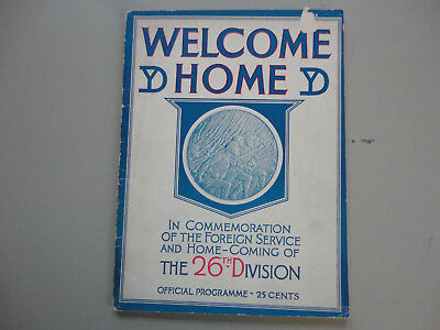 Welcome Home YD, The Home-Coming of the 26th Division, Unit History Book