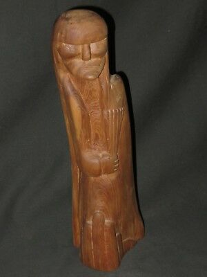 Native American Wood Sculpture by Ralph Suazo