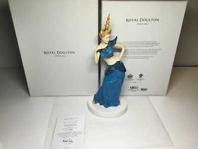 Royal Doulton Thai Dance Figurine Limited Edition 321/2500 HN 5645 in Box