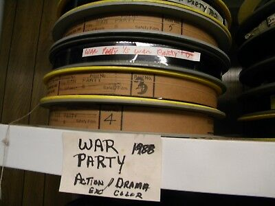 35mm feature WAR PARTY  1988
