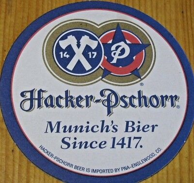 65 Mint New Hacker Pschorr Beer Coasters! Made in Germany! Munich's Beer!