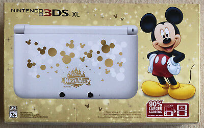 Console New Nintendo 3DS XL Disney Magical World Special Mickey Mouse US Limitée