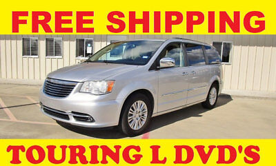 2012 Chrysler Town & Country TOURING-L LIKE A LIMITED FREE SHIPPING FREE SHIP STOW N GO NAV 2 DVDS POWER REAR FOLDING SEATS TOURING-L LIKE A LIMITED