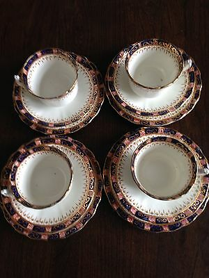 Four Trios Of Sutherland Bone China.