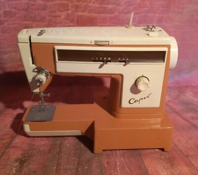 Vintage Retro Capri 165 Electric Sewing Machine