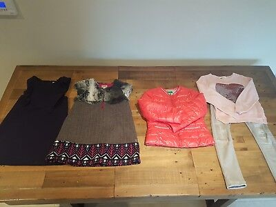Girls clothes bundle age 6-7 years Next H&M designer.