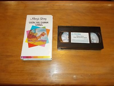 rare CONCORDIA VHS TAPE, Mary's Story CLEM, THE CLUMSY CAMEL Christmas Children
