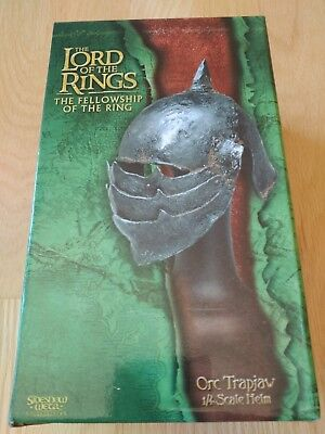 Sideshow Weta Lord of the Rings Orc Trapjaw helm (helmet) movie prop