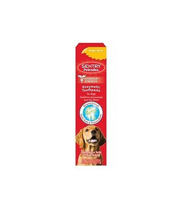 PETRODEX Enzymatic Toothpaste Poultry for Dogs - 2.5 oz - control plaque