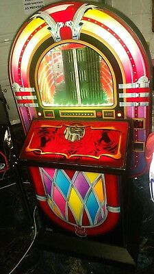 Sound Leisure ROUTE 66 commercial CD jukebox good working order