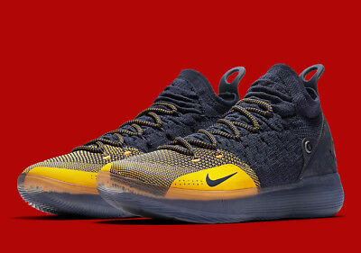 2c17fc0a9f9 Nike Zoom KD 11 Chinese Zodiac Blue Yellow AO2604-400 Warriors Michigan