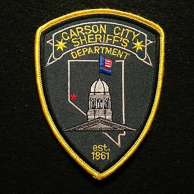 Nevada - Carson City Sheriff's Department Patch / Police NV State Capital