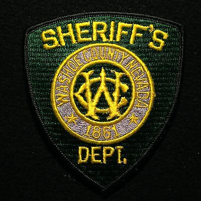 Nevada - Washoe County Sheriff's Dept. Patch / Las Vegas Police NV Deputy