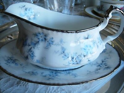 Paragon China... Brides Choice... Gravy Boat With Under Plate.. England.. Nice