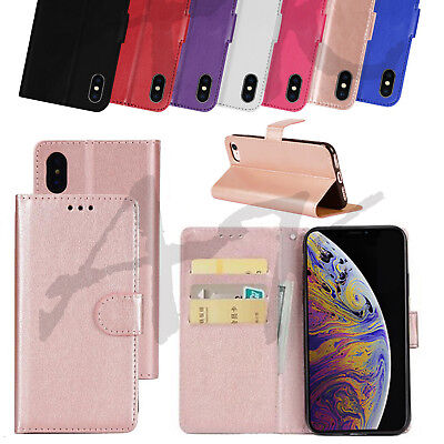 Case for iPhone 6s Real Genuine Leather Flip Wallet Cover