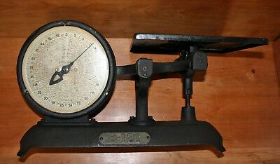 Vintage scale Detecto Posto-Gram Junior parcel post scale Jacobs Brothers NYC