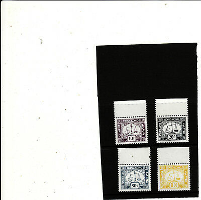 Hong Kong - 1978 Postage Dues Set 4 Unmounted Mint