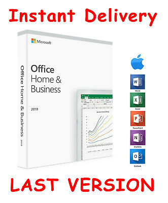 Microsoft Office 2019 Home&Business Mac ✅Volume License 🔑Instant Delivery 📩
