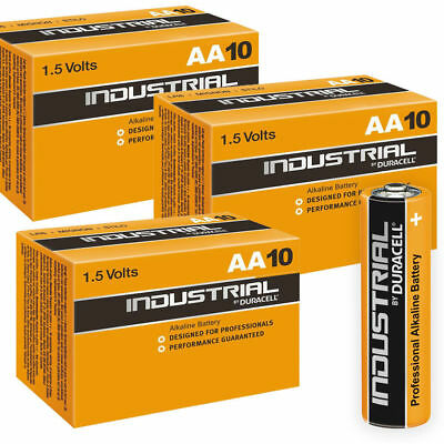 30x Duracell Industrial AA Alkaline Batteries Replaces Procell MN1500 1.5V LR6