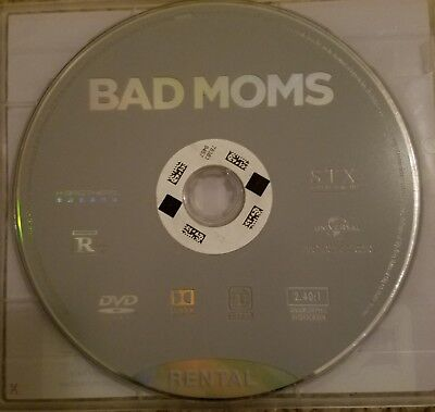Bad moms dvd Rated R (Redbox)