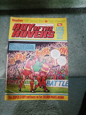Roy of the Rovers Comic in very good condition dated 6th November 1982