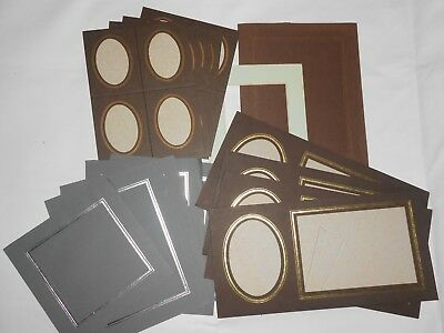 Collection of Vintage unused photo mounts Card LOW 99p start !