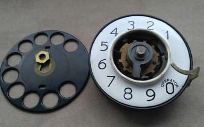 WESTERN ELECTRIC #2 AA Rotary Telephone Dial with 132-A number plate