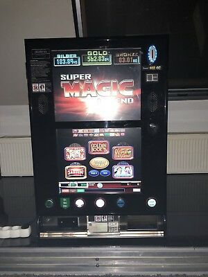 Super Magic Legend JVH Geldspielautomat Spielautomat + 3 Jackpots + 20 Spiele +